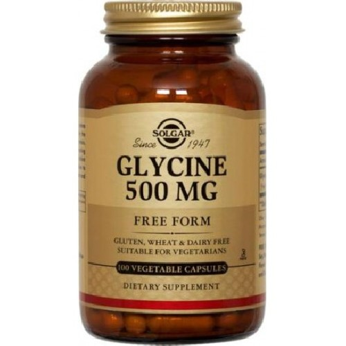 Glycine 500mg 100cps Solgar