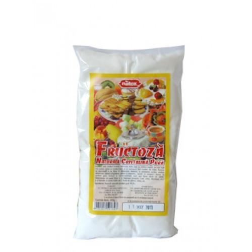 Fructoza Cristala 400gr Natex + Compozitie Vegetala 100gr Gratis