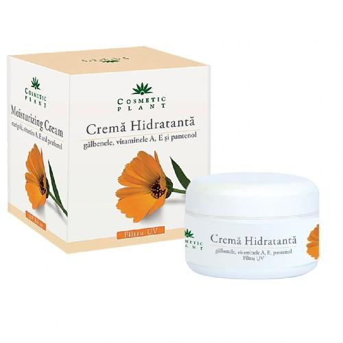 Crema Hidratanta Cu Galbenele si Pantenol 50ml Cosmetic Plant