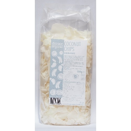 Fulgi Raw de Cocos Bio 150gr Dragon Superfoods