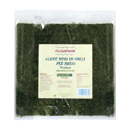 Alge Nori pentru Sushi 30gr-10folii Algamar