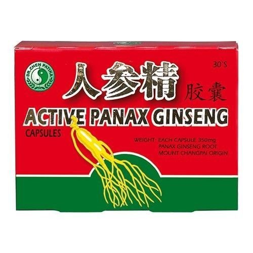 Ginseng Panax Aktiv 30cps Dr.Chen