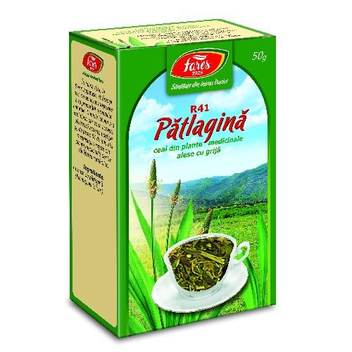 Ceai de Patlagina 50gr Fares