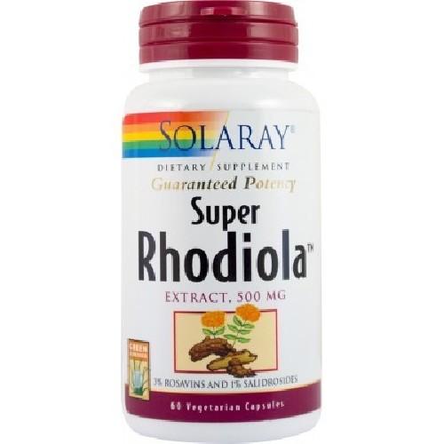Super Rhodiola Extract 500mg 60cps Secom