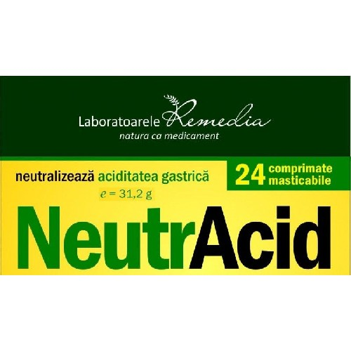 Neutracid, 24 cpr, Remedia