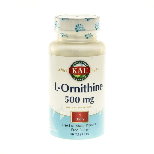 L-ornithine 500mg 50cpr Secom