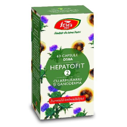 Hepatofit 2 63cps Fares