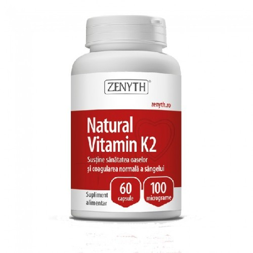 Natural Vitamin K2 60cps Zenyth