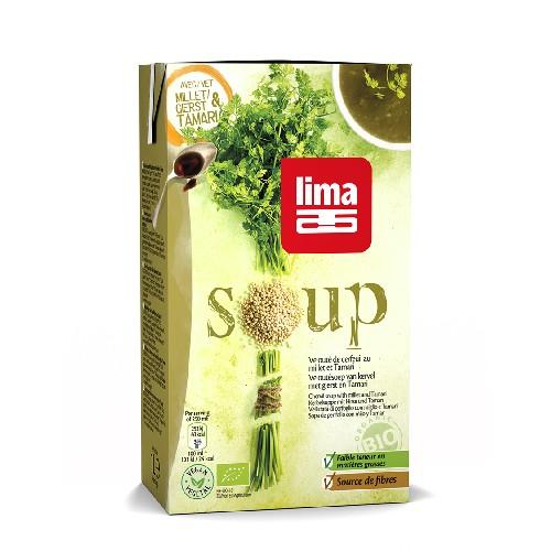 Supa Crema De Patrunjel Cu Mei Si Tamari Bio 1l Li