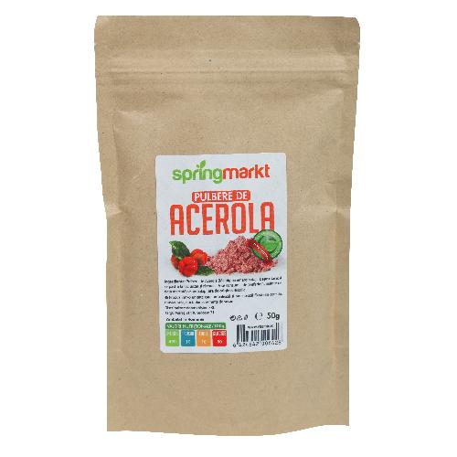 Pulbere de Acerola 50gr Springmarkt