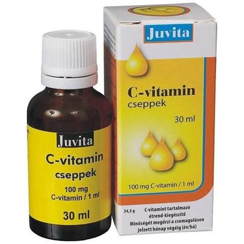 Vitamina C Picaturi 30ml Jutavit