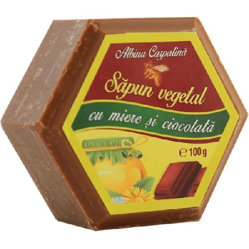 Sapun cu Miere & Ciocolata 100gr Albina Carpatina