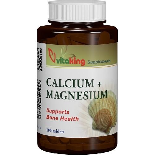 Calciu-Magneziu 500/250mg 100cpr Vitaking