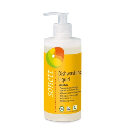 Detergent Ecologic Pentru Spalat Vase Cu Galbenele 300ml Sonett