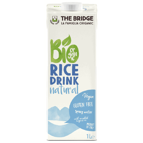Lapte Bio din Orez Natural 1l The Bridge