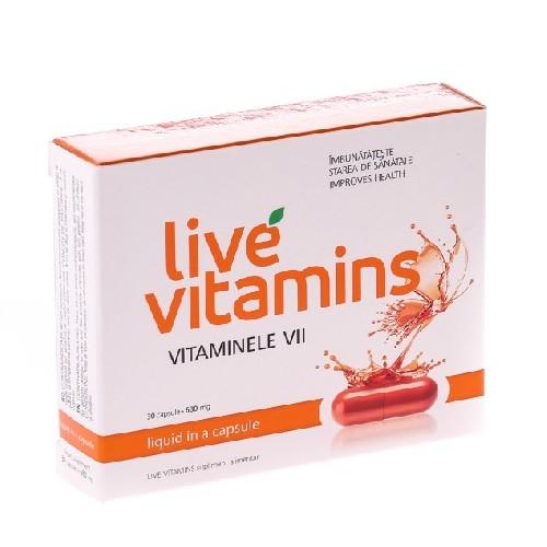 Live Vitamins 30cps Vitaslim