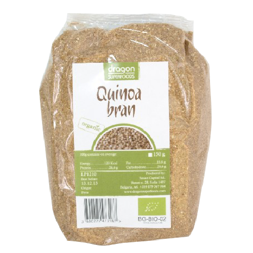 Tarate de Quinoa Bio 150gr Dragon Superfoods