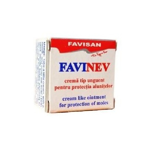 Favinev - Crema pentru Protectia Alunitelor 5ml Favisan