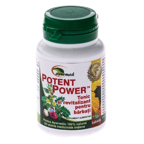 Potent Power  50tablete Ayurmed