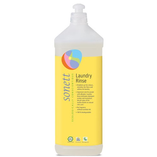 Solutie Ecologica (balsam) pentru Clatire Rufe 1l Sonett