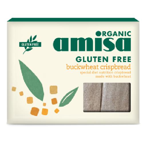 Crispbread Din Hrisca Integrala Fara Gluten Bio 150gr Amisa