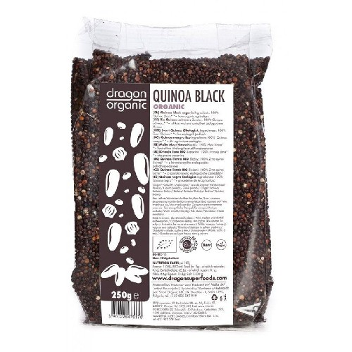 Quinoa Neagra Bio 250gr Dragon Superfoods