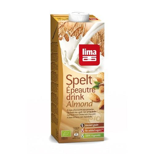 Lapte de Spelta cu Migdale Bio 1l Lima