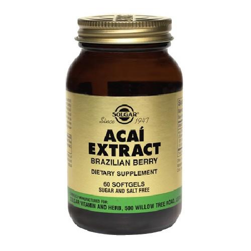 Acai Extract 60cps Solgar