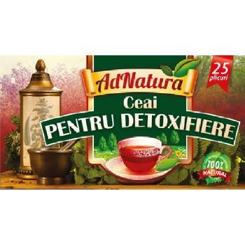 Ceai pentru Detoxifiere 25dz Adserv