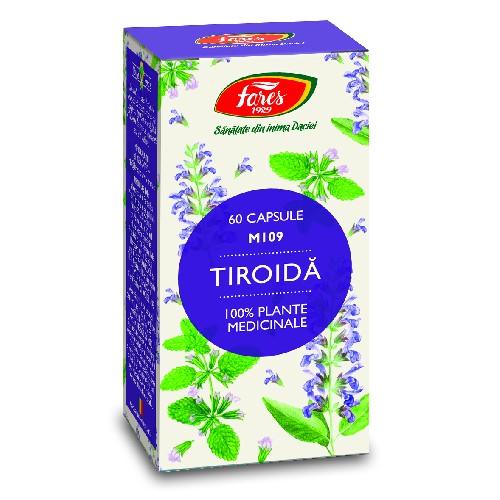 Capsule Tiroida 60cps Fares