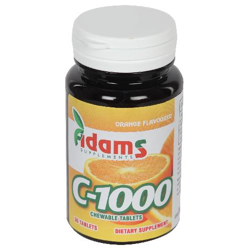 C-1000 cu aroma de Portocale 30tablete masticabile