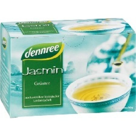 Ceai Verde Cu Iasomie Ecologic 20dz Dennree