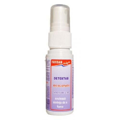 Detoxtab Spray Bucal 30ml Favisan