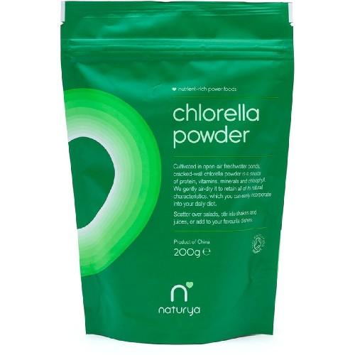 Chlorella Pulbere Organica 200gr Naturya