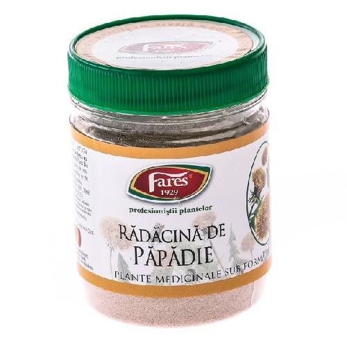 Radacina de Papadie Pulbere din Plante Medicinale 70gr Fares