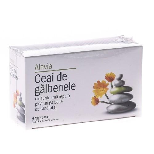 Ceai De Galbenele 20dz Alevia
