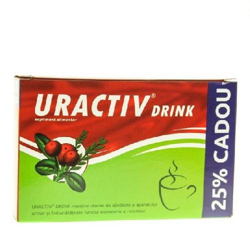 Uractiv Drink 8dz+ 2dz Gratis Fiterman