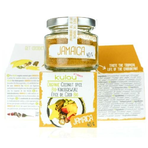 Condiment Jamaica cu Cocos Bio 40gr Kulau