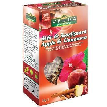 Ceai de Fructe Mar si Scortisoara 75gr Vedda