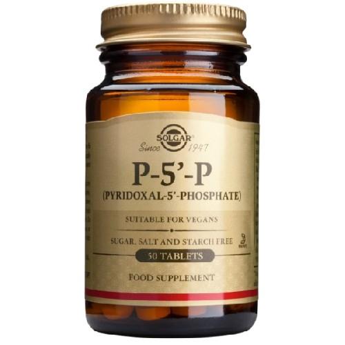 Pyridoxal 5 Phosphate (P-5-P) 50mg 50tab Solgar