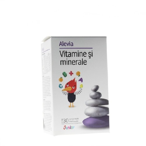 Vitamine&multiminerale Junior 30cpr Alevia