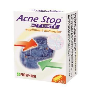 Acne Stop Forte 30tab 1+1 Gratis  Parapharm