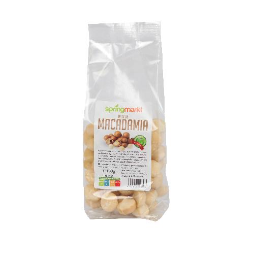Nuci de Macadamia Intregi 100gr Springmarkt