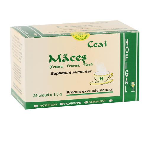 Ceai Maces -fructe, frunze si flori- 25dz 1gr Hofigal