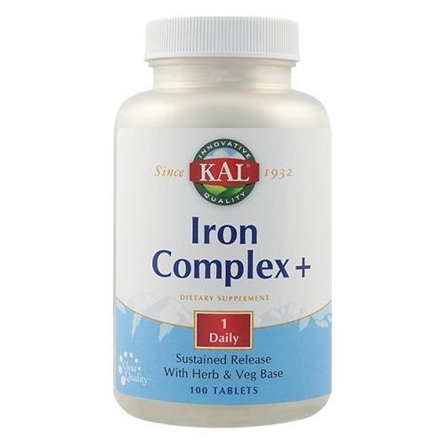 Iron Complex+ 100cpr Secom