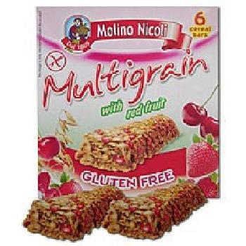 Molino Baton Multicereale Fructe Rosii 129gr