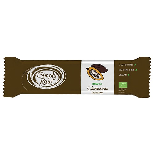 Baton Raw Ba Cu Ciocolata Bio 40g