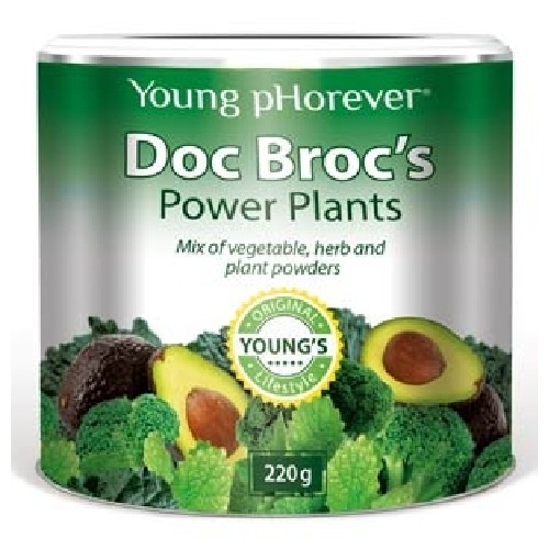Doc Broc Pulbere Verde 220gr Young Phorever