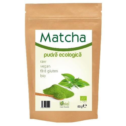 Matcha (ceai Verde) Pudra Bio 60gr Obio
