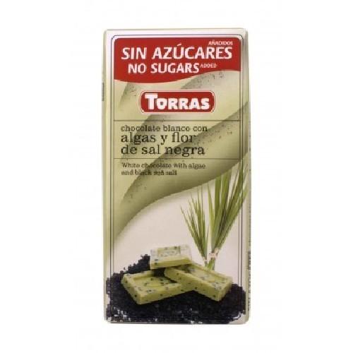 Ciocolata Alba Cu Alge Si Sare De Mare 75gr Tobra